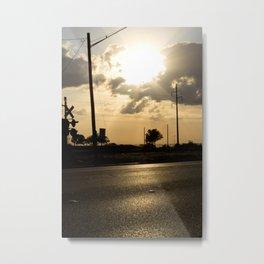 the road ahead. Metal Print