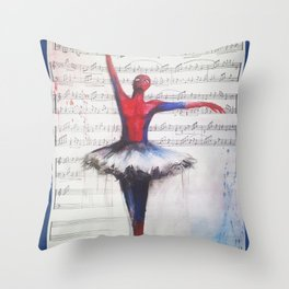 Spider-man Tutu Throw Pillow