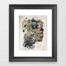 Forest Lake Dreams Framed Art Print