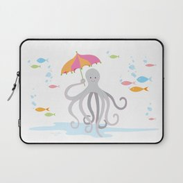 Sweet octopus with a Parasol Laptop Sleeve