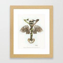 Caduceus Framed Art Print