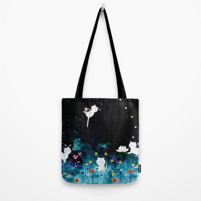 colourful night Tote Bag