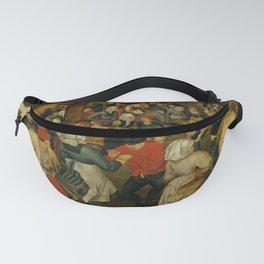 """Pieter Bruegel (also Brueghel or Breughel) the Elder """"The Outdoor Wedding Feast"""" Fanny Pack"""