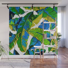 BANANA PALM LEAF PARADISE Wall Mural