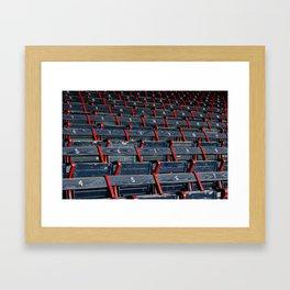 Grandstand Seating Framed Art Print