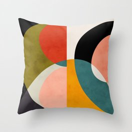 geometry shapes 3 Throw Pillow