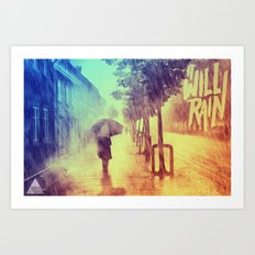 It Will Rain Art Print