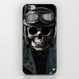 Skull graphic design iPhone Skin