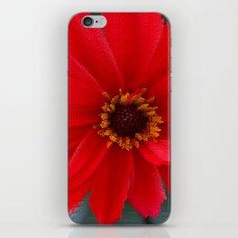 Scarlet Red iPhone Skin