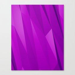 Geo Purple Canvas Print