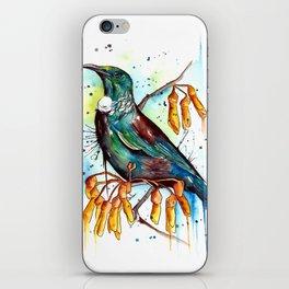 Kowhai Tui iPhone Skin