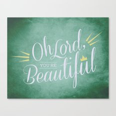 Beautiful One Canvas Print