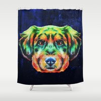 best friend Shower Curtains featuring best friend for ever by Ancello