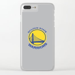 Golden State Wariors Grey Clear iPhone Case