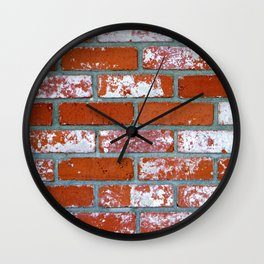 Brick Wall #2 Wall Clock