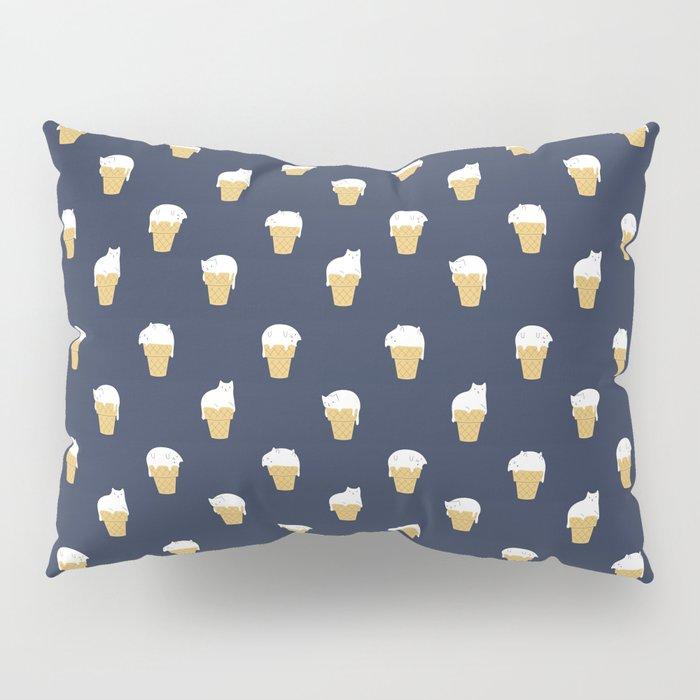 Cats Ice Cream Pillow Sham