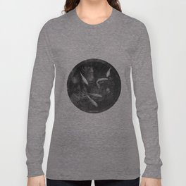 FISH SWIMING & HAVING DEEP THOUGHTS  Long Sleeve T-shirt