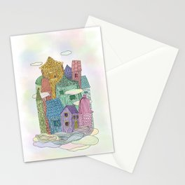 Live In The Sky II Stationery Cards