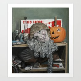 Still Life with Lindsay Lohan Art Print