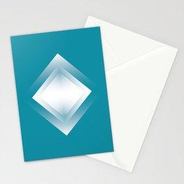 blue energy vibration Stationery Cards