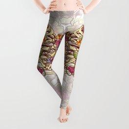 Rib Bloom Leggings