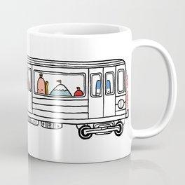 """Pop and Pals: Commuting""  Coffee Mug"