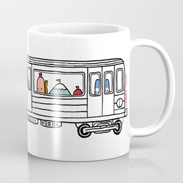 """Pop and Pals: Commuting""  Coffee Mug"