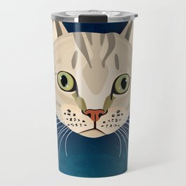Tabby Cat Travel Mug
