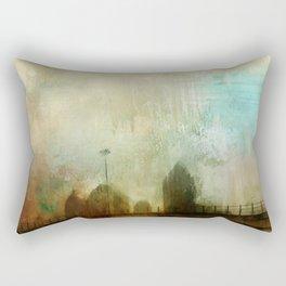 City Glimpse Rectangular Pillow