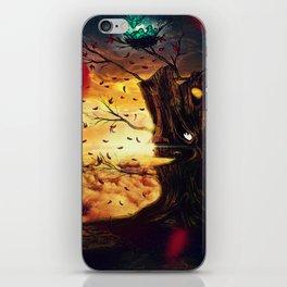 The Last Autumn iPhone Skin