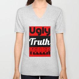 Ugly Truth Teller Unisex V-Neck