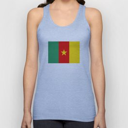 Cameroon country flag Unisex Tank Top