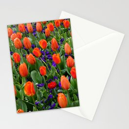 Tulip Field 2 Stationery Cards