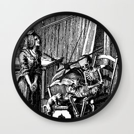 DEATH of CHILD Wall Clock