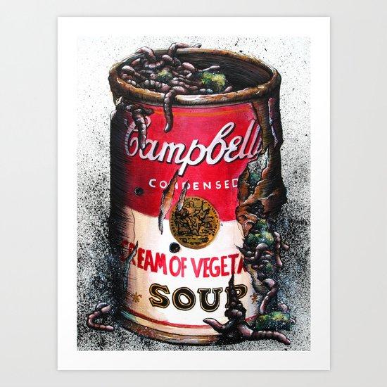 Cream of Vegetable Art Print