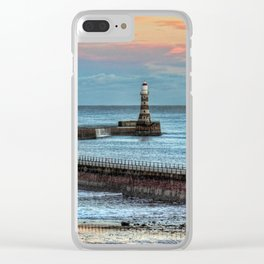 Roker Pier and Lighthouse Clear iPhone Case