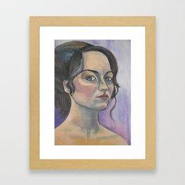Who is She? Framed Art Print