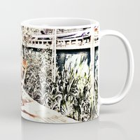 outdoor Mugs featuring Outdoor Lunch by Losal Jsk