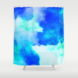 Blue Java Shower Curtain