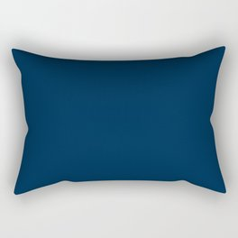 Los Angeles Football Team Navy Blue Solid Mix and Match Colors Rectangular Pillow