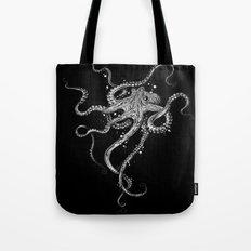 Octopus (black) Tote Bag