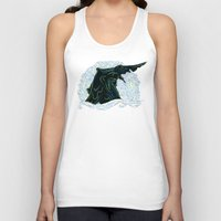 pacific rim Tank Tops featuring Pacific Rim - Starry Kaiju by Charleighkat