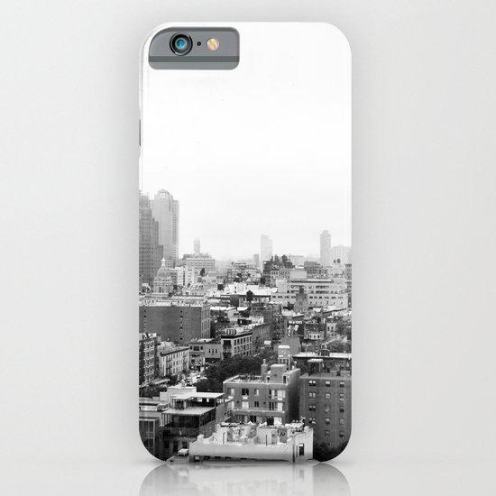 Lower East Side Skyline #3 iPhone & iPod Case