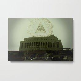 Eye of Providence - San Francisco Metal Print