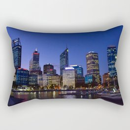 Perth by night Rectangular Pillow