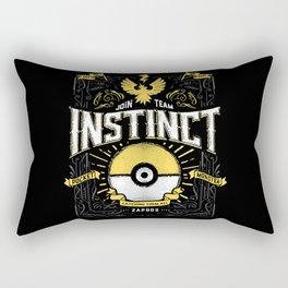 An Instinctual Decision Rectangular Pillow