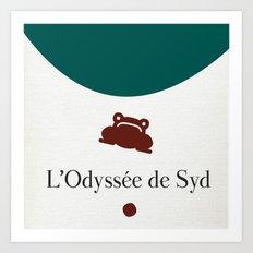 L'Odyssée de Syd Art Print