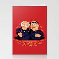 battlestar Stationery Cards featuring Frakking Awful by Matt Dearden