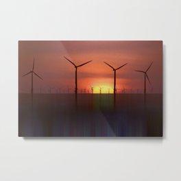 Clean Energy (Digital Art) Metal Print