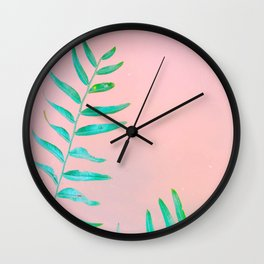 Leaf it Alone. Wall Clock